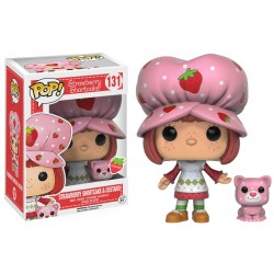 Figurine Pop STRAWBERRY SHORTCAKE - Strawberry Shortcake & Custard