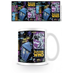 Mug DOCTOR WHO - Panel de comic