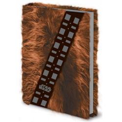 Notebook A5 Premium CHEWBACCA  (Fourrure)