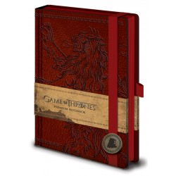 Notebook A5 Premium GAME OF THRONES - Lannister