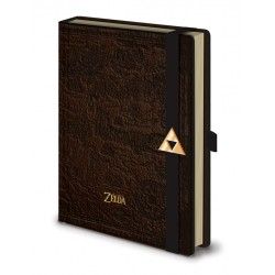 Notebook A5 Premium THE LEGEND OF ZELDA - Carte d'hyrule