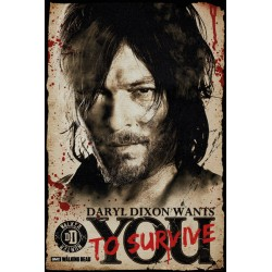 Maxi Poster THE WALKING DEAD - Daryl Wants You !