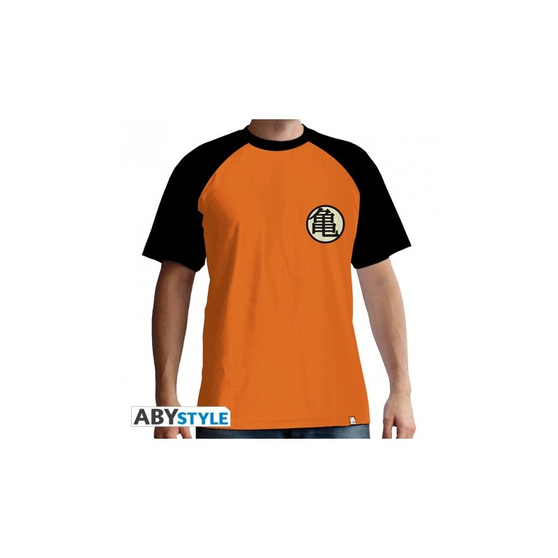 T Shirt Dragon Ball Kame Symbol Homme Passe Muraille Editions