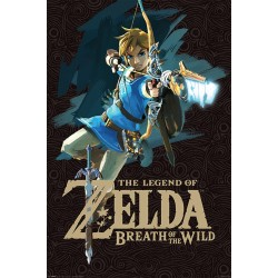 Poster Maxi ZELDA BREATH OF THE WIND - Game Over