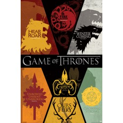 Maxi Poster GAME OF THRONES - Sigles