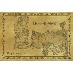 Maxi Poster GAME OF THRONES - Carte
