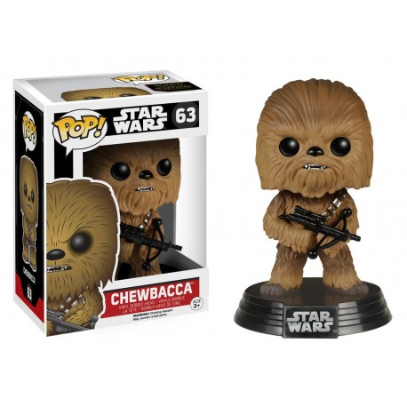 figurine pop funko star wars pas cher tours chewbacca n 63. Black Bedroom Furniture Sets. Home Design Ideas