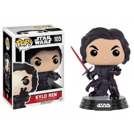figurine pop funko star wars pas cher tours kylo ren n 105. Black Bedroom Furniture Sets. Home Design Ideas