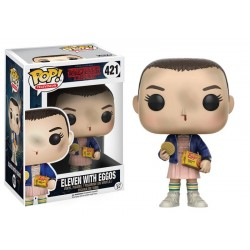 Figurine Pop STRANGER THINGS - Eleven With Eggos
