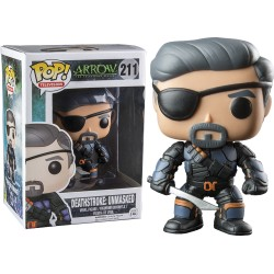 Figurines POP Arrow - Deathstroke Unmasked Exclusive