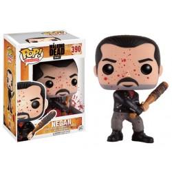 Figurine Pop Walking Dead -  Negan & Lucile Bloody Exclu
