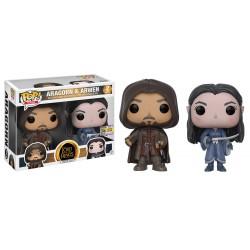 Figurine Pop SEIGNEUR DES ANNEAUX - Aragorn & Arwen