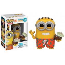 Figurine Pop MOI MOCHE ET MECHANT - Minion Paradise Phil