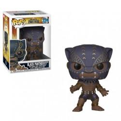 Figurine Pop BLACK PANTHER - Black Panther Warrior falls