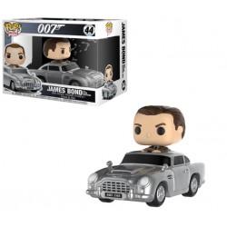 Figurine Pop JAMES BOND - Aston Martin & Sean Connery