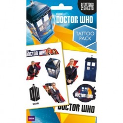 Tattoos Pack DOCTOR WHO