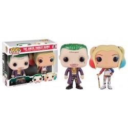 Figurine Pop SUICIDE SQUAD - 2 Pack Harley Quinn - Joker Exclu