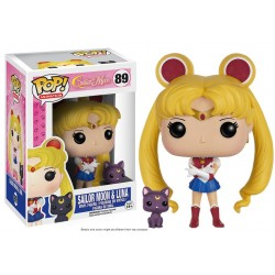 Figurine Pop SAILOR MOON - Sailor Moon et Luna
