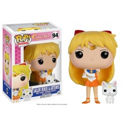 Figurine Pop SAILOR MOON - Sailor Venus et Artemis