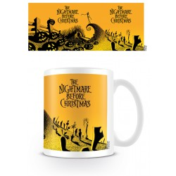 Mug NIGHTMARE BEFORE CHRISTMAS - Graveyard Scene