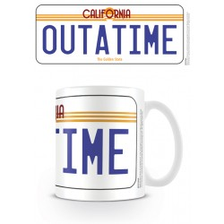 Mug RETOUR VERS LE FUTUR - Out Of Time