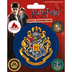 Pack de stickers HARRY POTTER - Poudlard