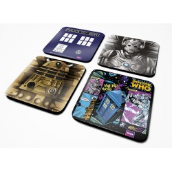 Pack sous verre DOCTOR WHO