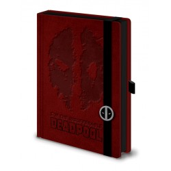 Notebook A5 Premium DEADPOOL