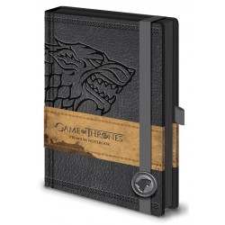 Notebook A5 Premium GAME OF THRONES - Stark