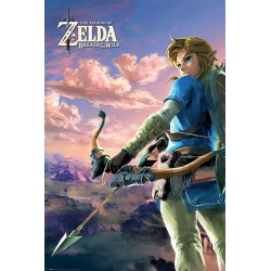 Poster Maxi ZELDA BREATH OF THE WIND - Hyrule