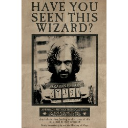 Maxi Poster  HARRY POTTER - Wanted Sirius Black