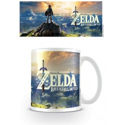 Mug ZELDA BREATH OF THE WIND - Game Cover