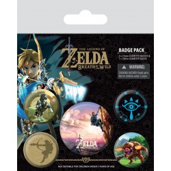 Badge Pack  ZELDA BREATH OF THE WIND - The Climb