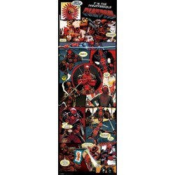 Poster Porte DEADPOOL - Collage