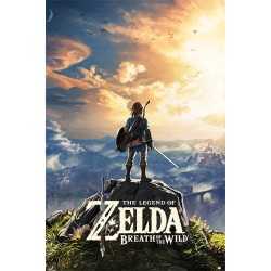 Maxi Poster ZELDA BREATH OF THE WILD - Sunset
