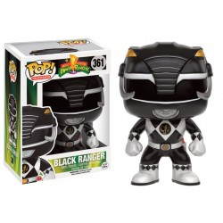 Figurine Pop Power Rangers - Black Ranger