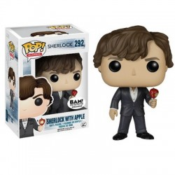 Figurine Pop SHERLOCK - Sherlock With Apple Exclu