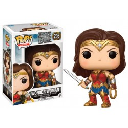 Figurine Pop JUSTICE LEAGUE - Wonder Woman