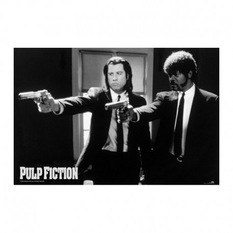 Maxi Poster PULP FICTION - B&W Guns