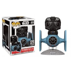 Figurine Pop STAR WARS - Tie Fighter Pilot With Tie Fighter
