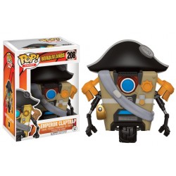 Figurine Pop BORDERLANDS - Emperor ClapTrap