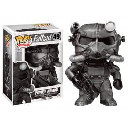 Figurine Pop FALLOUT 4  - Power Armur Black Exclu