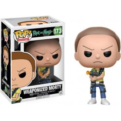 Figurine Pop RICK ET MORTY - Weaponized Morty