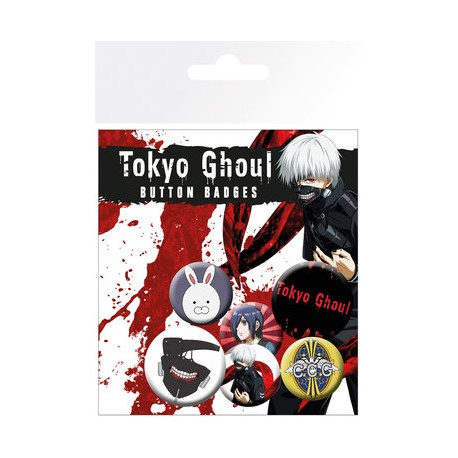 Badge Pack  TOKYO GHOUL - The Climb
