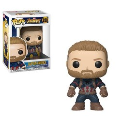 Figurine Pop AVENGERS INFINITY WAR - Captain America