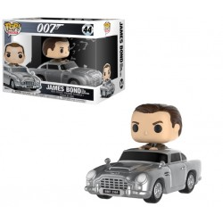 Figurine Pop JAMES BOND - Aston Martin & Sean Connery