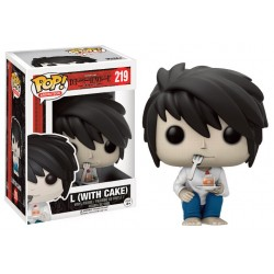 Figurine Pop Death Note - L With Cake Exclu