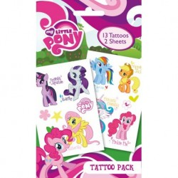 Tattoos Pack MON PETIT PONEY - Personnages