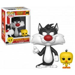 Figurine Pop LOONEY TUNES- Titi & Grosminet