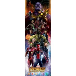 Poster Porte AVENGERS: INFINITY WAR - Personnages